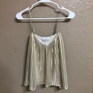 Abercrombie and Fitch Gold Tank Top